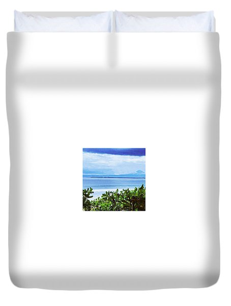 Beach Beauty Duvet Cover