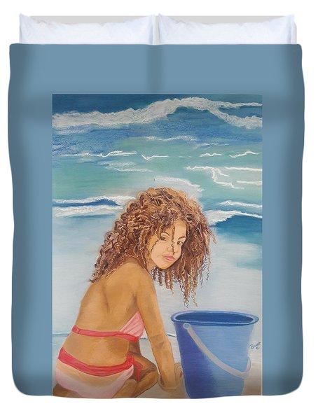 Beach Beauty Duvet Cover