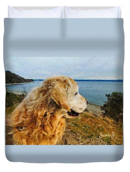 Beach Buddy Duvet Cover