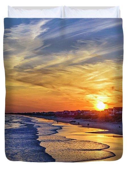 Beach Bum Duvet Cover