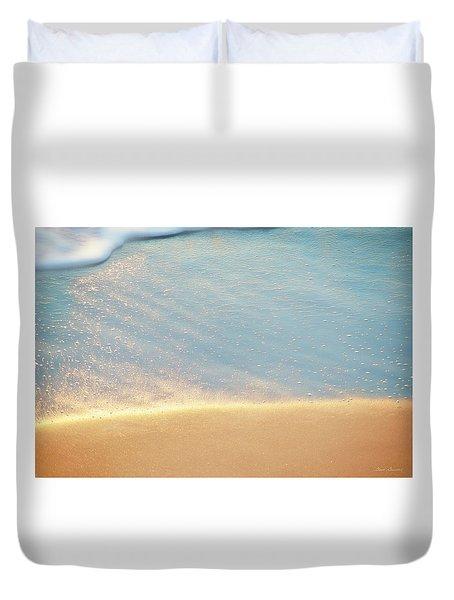 Beach Caress Duvet Cover