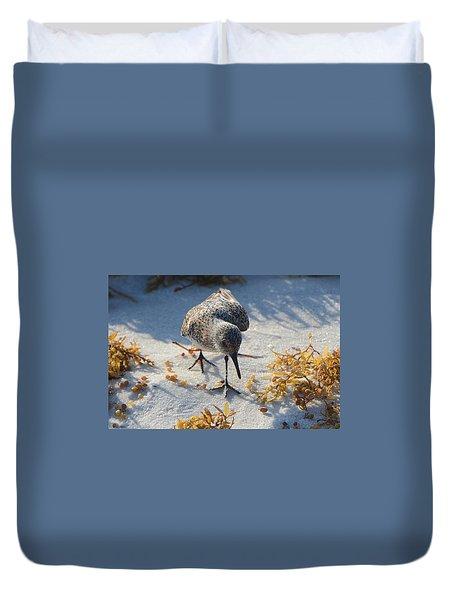 Beach Combing Duvet Cover