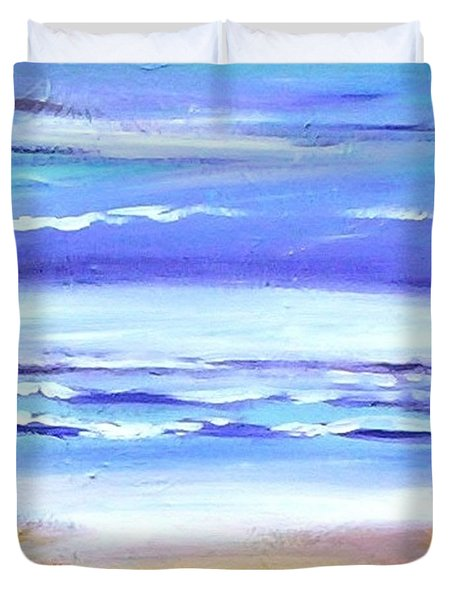 Beach Dawn Duvet Cover