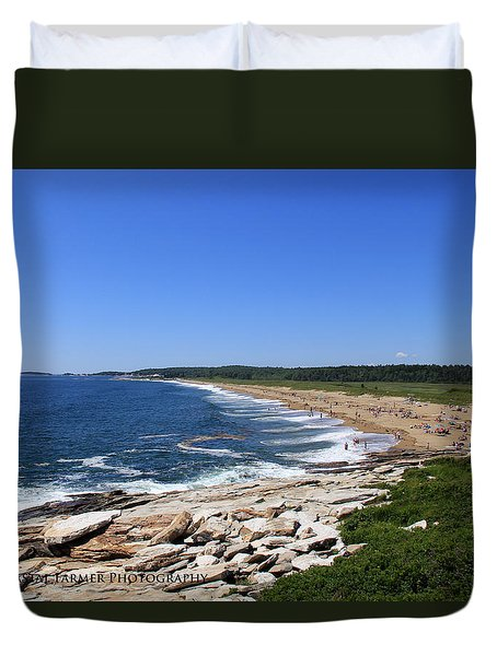 Beach Day Duvet Cover