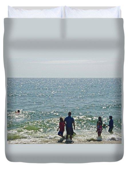 Beach Day Duvet Cover