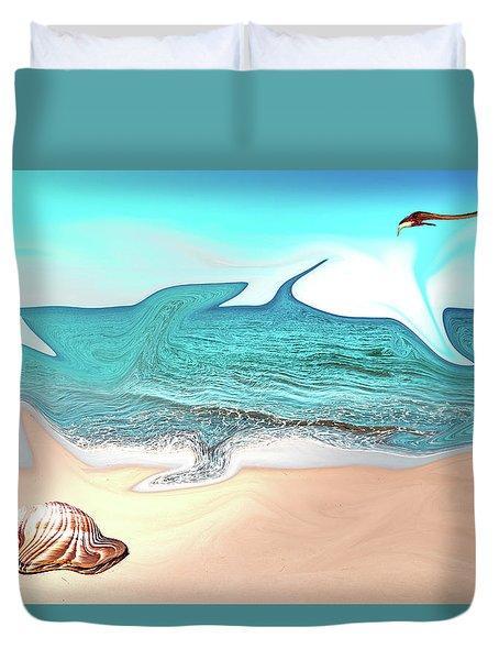 Beach Dream Duvet Cover