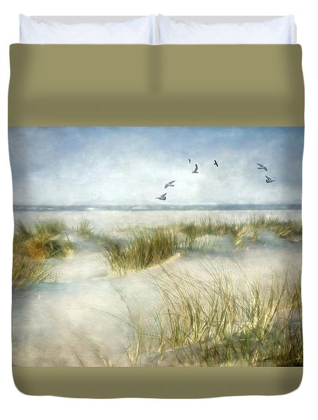 Beach Dreams Duvet Cover by Annie Snel