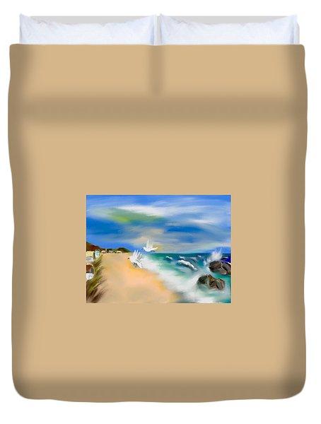 Beach Energy Duvet Cover