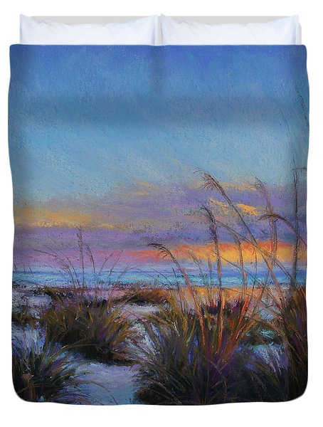 Beach Escape Duvet Cover