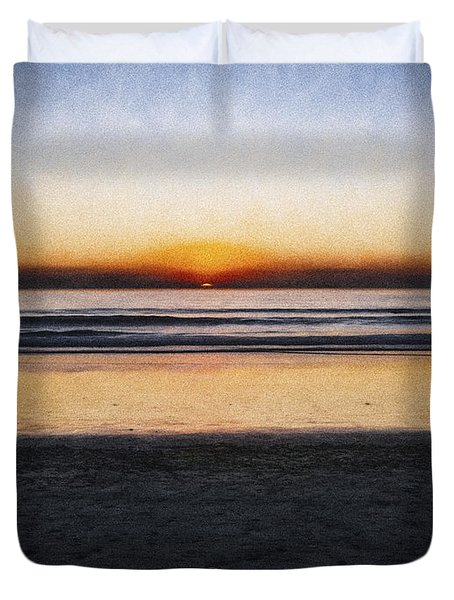 Beach Family  ... Duvet Cover