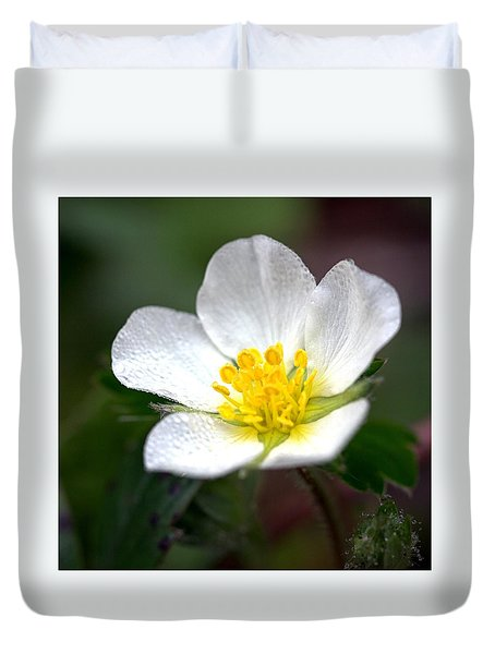 Beach Flower Duvet Cover