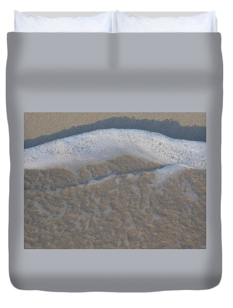 Beach Foam Duvet Cover