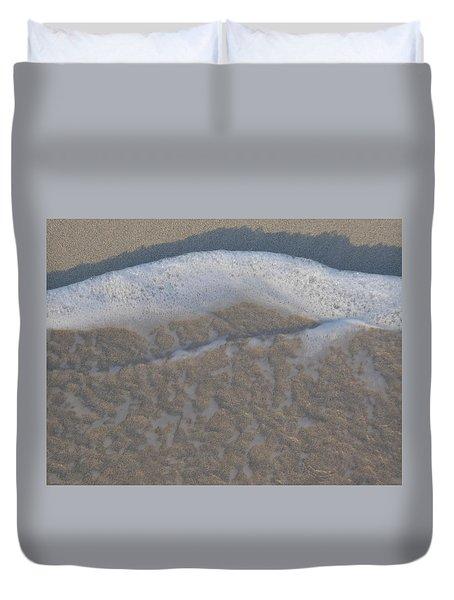 Beach Foam Duvet Cover
