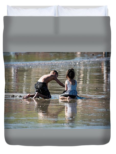 Beach Fun Duvet Cover