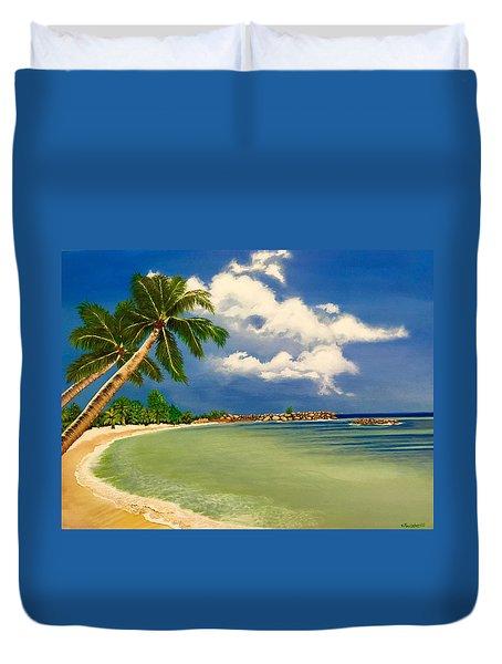 Beach Getaway Duvet Cover