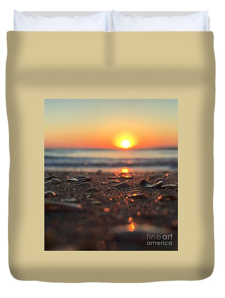 Beach Glow Duvet Cover