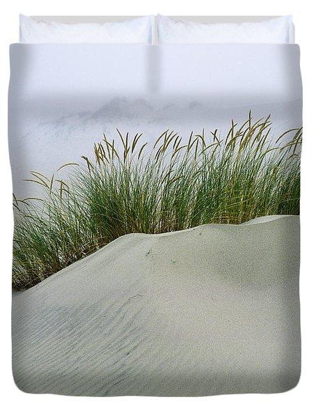 Beach Grass And Dunes Duvet Cover