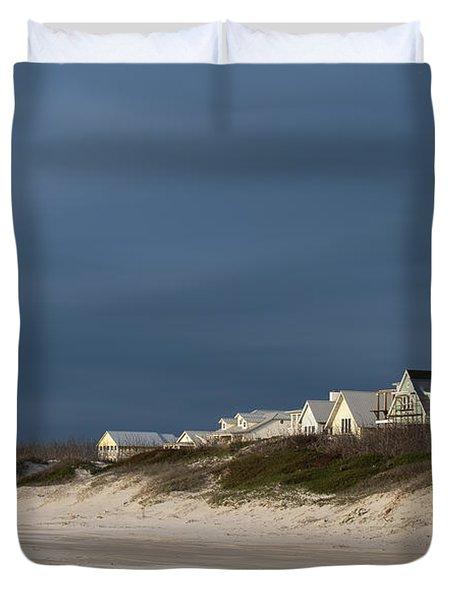 Beach Houses Duvet Cover