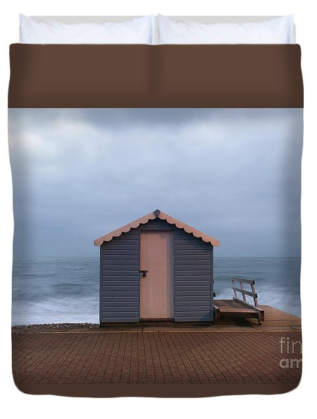 Beach Hut Duvet Cover