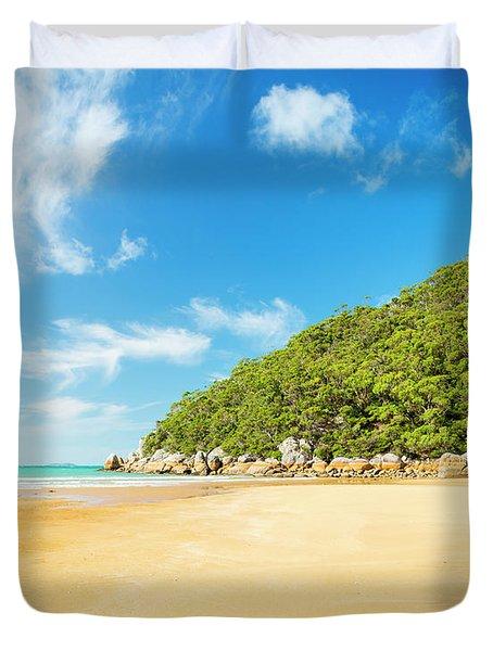 Beach In Wilsons Promontory Duvet Cover