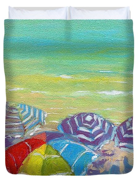 Beach Is Best Duvet Cover