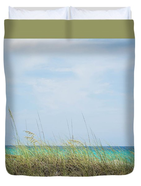 Beach Landscape Duvet Cover
