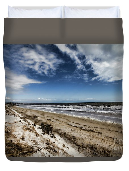 Beach Life Duvet Cover by Douglas Barnard