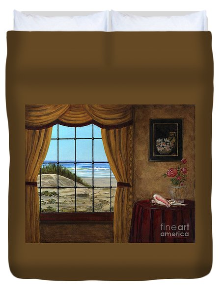 Beach Longing Duvet Cover