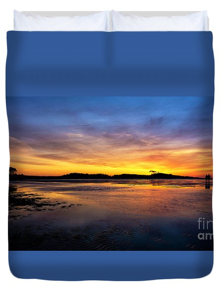 Beach Love Duvet Cover