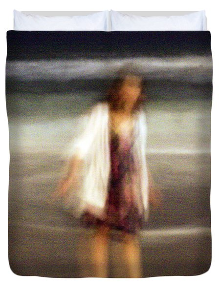 Beach Night 3 Duvet Cover