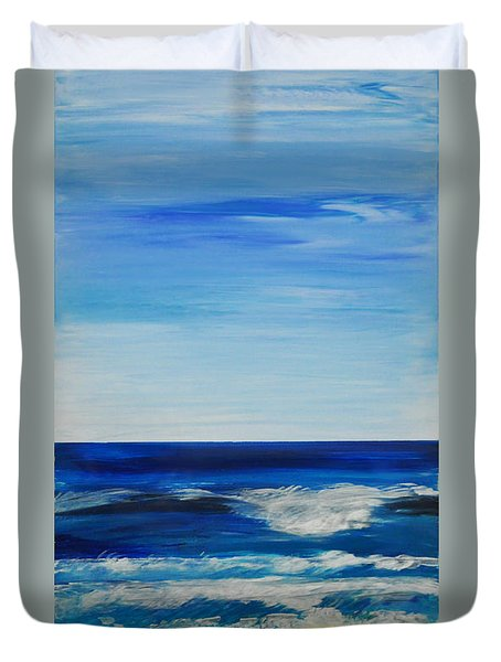 Beach Ocean Sky Duvet Cover