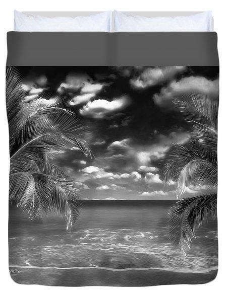 Beach Of Forgotten Colours Duvet Cover