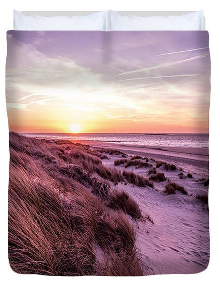 Beach Of Renesse Duvet Cover