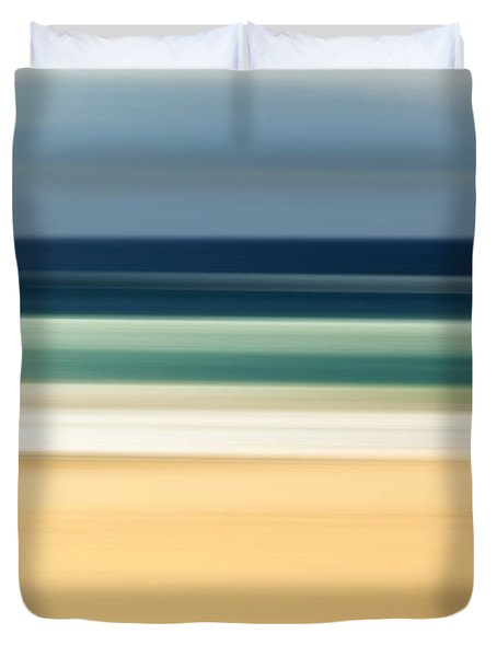 Beach Pastels Duvet Cover
