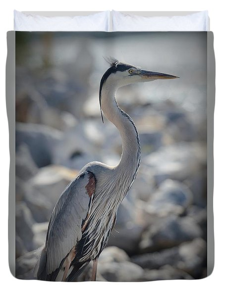 Beach Patrol Duvet Cover