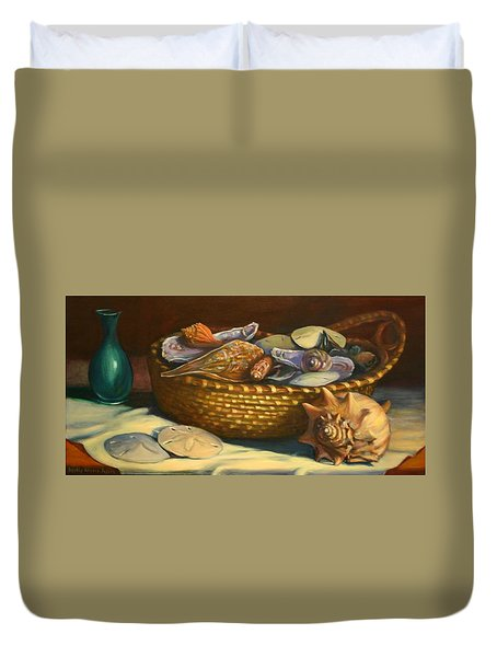 Beach Peace Duvet Cover