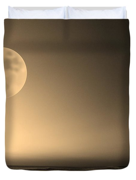 Beach Planet Series V Duvet Cover