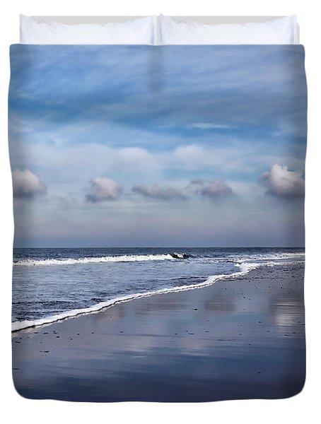 Beach Reflections Duvet Cover