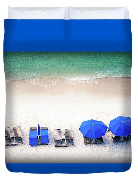 Beach Relax Duvet Cover