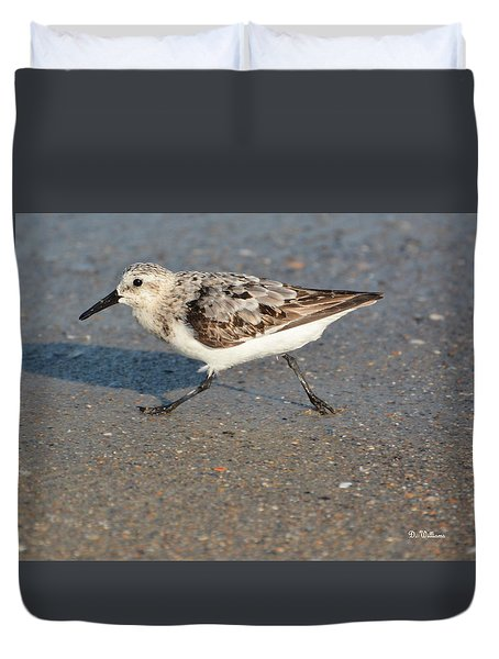 Beach Run Duvet Cover