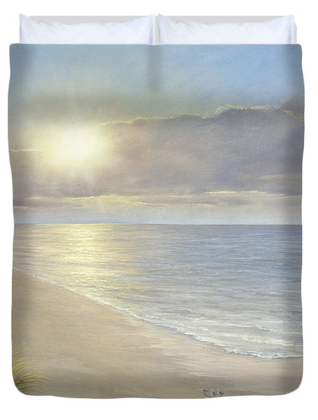 Beach Serenity Duvet Cover