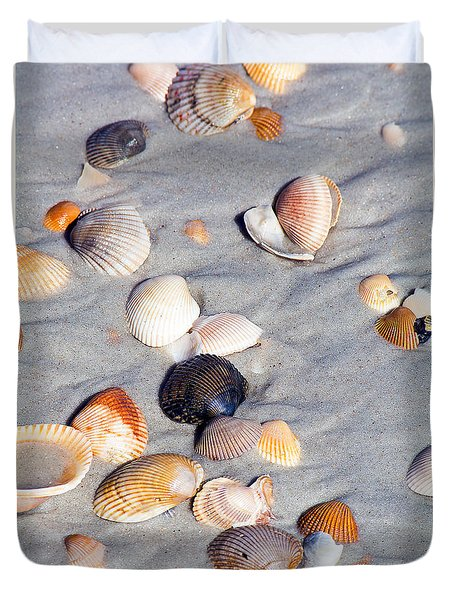 Beach Shells Duvet Cover