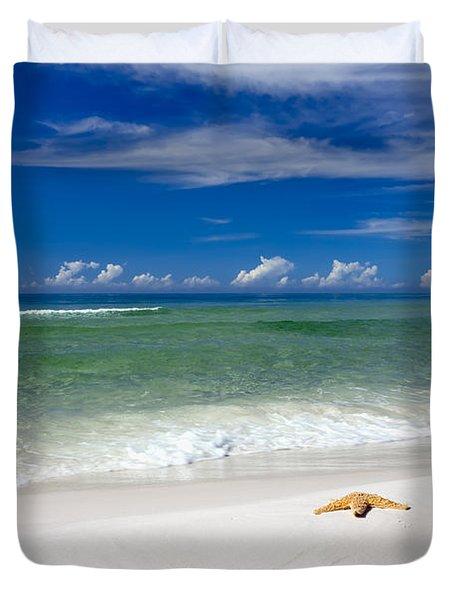 Beach Splendour Duvet Cover