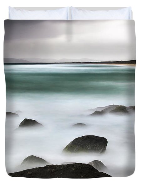 Beach Squall Duvet Cover