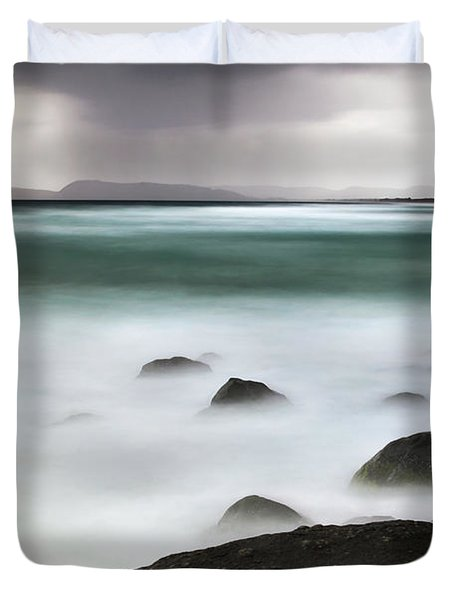 Beach Squall Duvet Cover