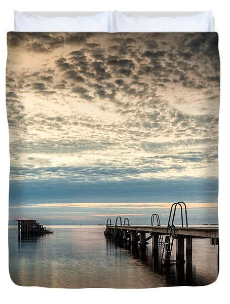Beach Sunrise I Duvet Cover