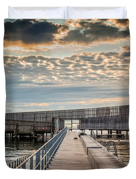 Beach Sunrise IIi Duvet Cover