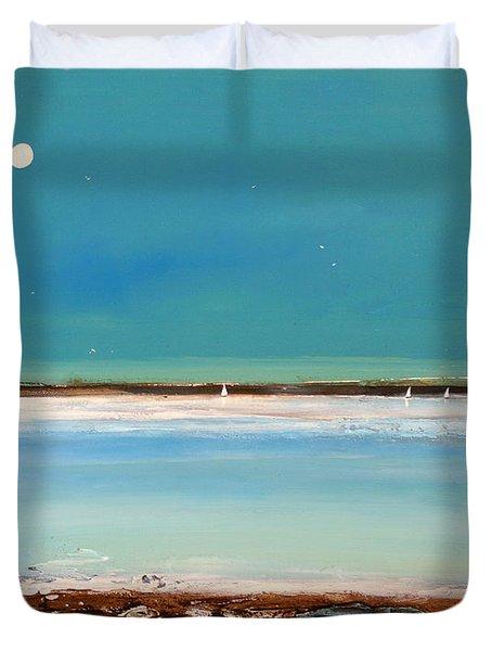 Beach Textures Duvet Cover