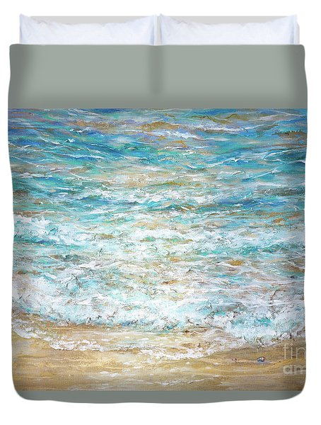 Beach Tide Duvet Cover