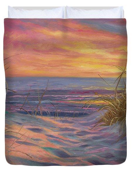 Beach Time Serenade Duvet Cover